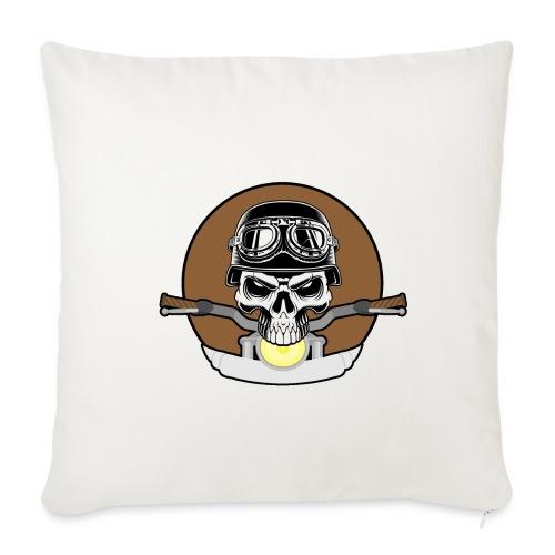 rider skull2 - Sofakissenbezug 44 x 44 cm