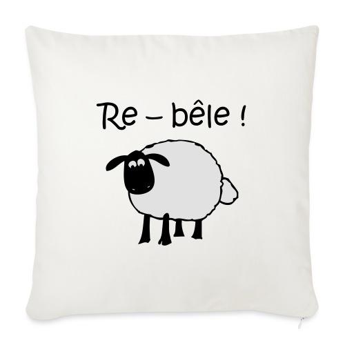 mouton-re-bele - Housse de coussin décorative 45x 45cm