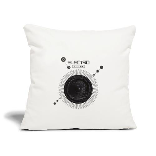 Electro Sound - Copricuscino per divano, 45 x 45 cm
