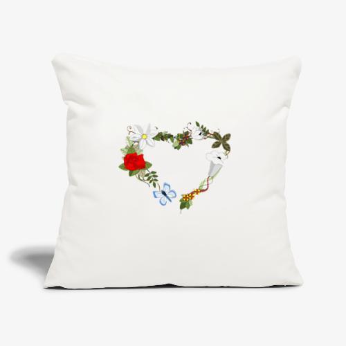 Wedding pattern - Housse de coussin décorative 45x 45cm