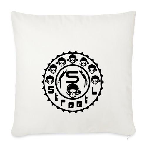 rawstyles rap hip hop logo money design by mrv - Poszewka na poduszkę 45 x 45 cm
