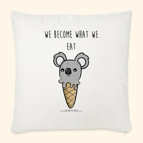 ice cream koala - Housse de coussin décorative 45x 45cm