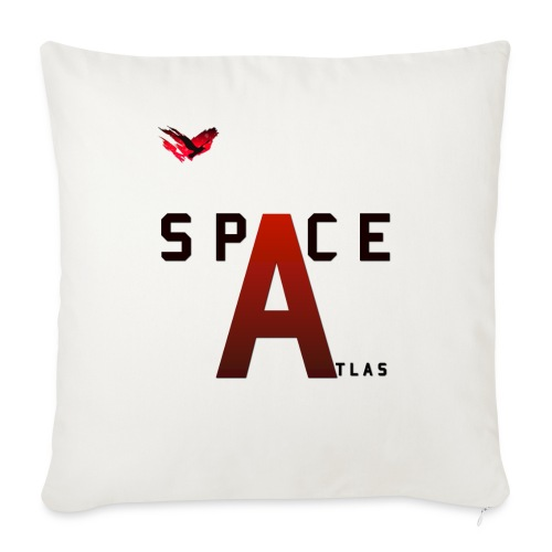 Space Atlas Baseball Long Sleeve Capital A - Pudebetræk 45 x 45 cm