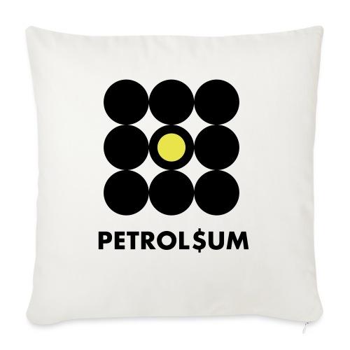 Petroleum - Copricuscino per divano, 45 x 45 cm