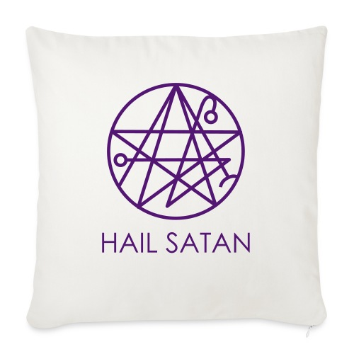 Hail Satan! - Sofa pillowcase 17,3'' x 17,3'' (45 x 45 cm)