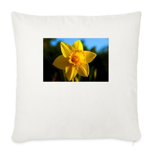 daffodil - Sofa pillowcase 17,3'' x 17,3'' (45 x 45 cm)