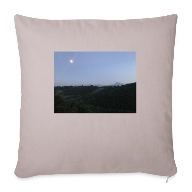 Paesaggio con luna