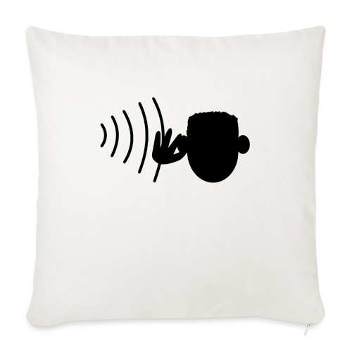 Hearing - Sohvatyynyn päällinen 45 x 45 cm