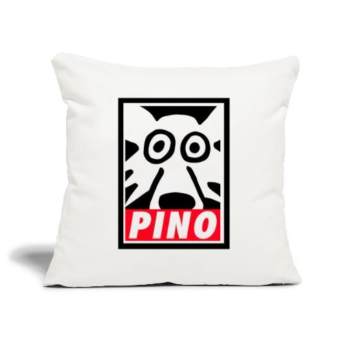 Pino Volpino OBEY style - Copricuscino per divano, 45 x 45 cm