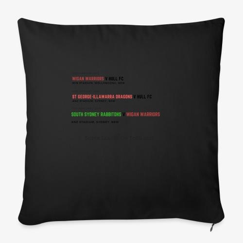 Super League on Tour - Sofa pillowcase 17,3'' x 17,3'' (45 x 45 cm)