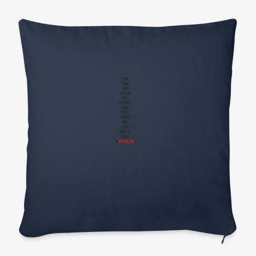 Tom Dan Oliver Joe George - Sofa pillowcase 17,3'' x 17,3'' (45 x 45 cm)