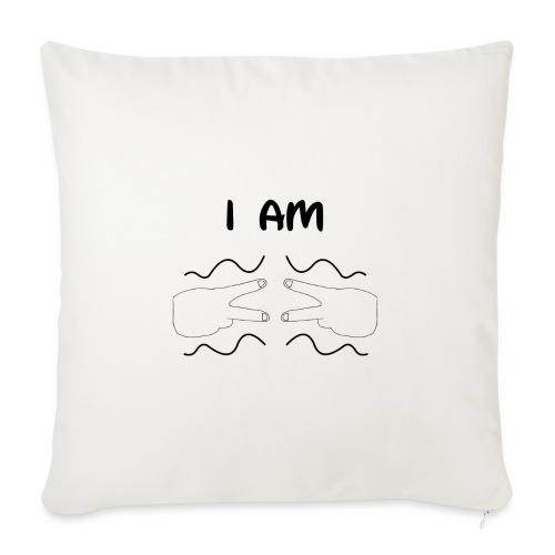 I Am Autism (Black) - Sofa pillowcase 17,3'' x 17,3'' (45 x 45 cm)