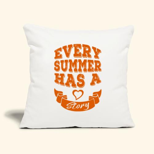 Every summer has a story - Sofa pillowcase 17,3'' x 17,3'' (45 x 45 cm)