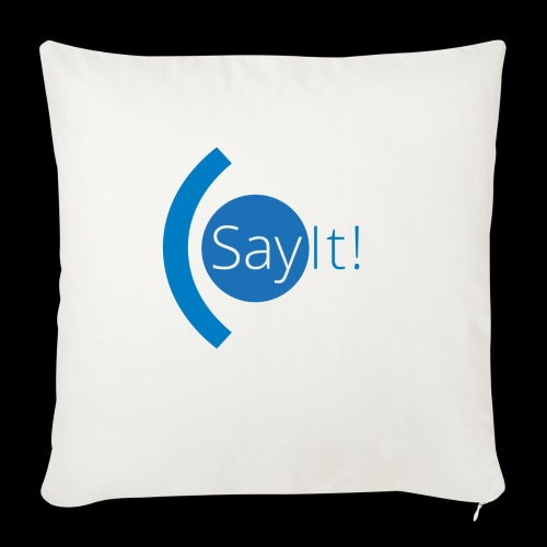 Sayit! - Sofa pillowcase 17,3'' x 17,3'' (45 x 45 cm)