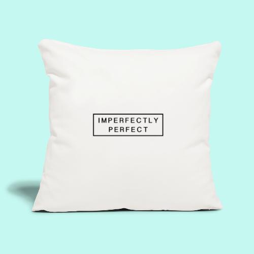 Imperfektly/Perfect - Sofakissenbezug 44 x 44 cm