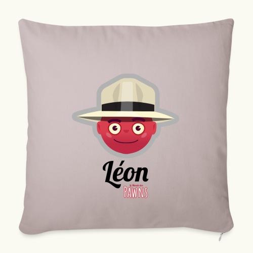 Leon (Le Monde des Pawns) - Housse de coussin décorative 45x 45cm