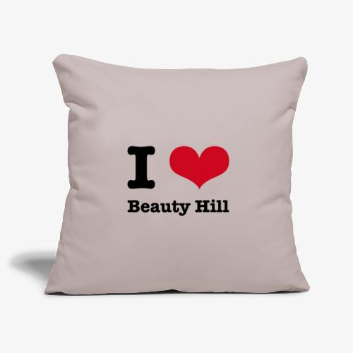 I love Beauty Hill - Sofakissenbezug 44 x 44 cm