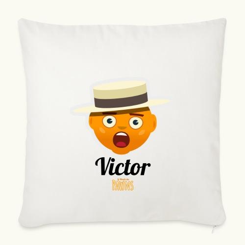 Victor (Le monde des Pawns) - Housse de coussin décorative 45x 45cm