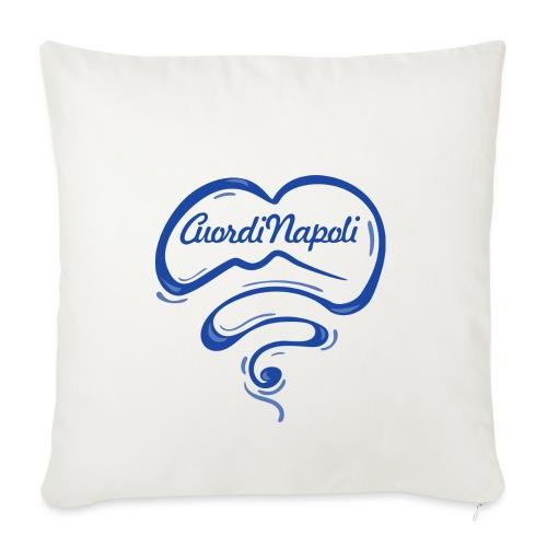 New Logo CuordiNapoli Blu - Copricuscino per divano, 45 x 45 cm