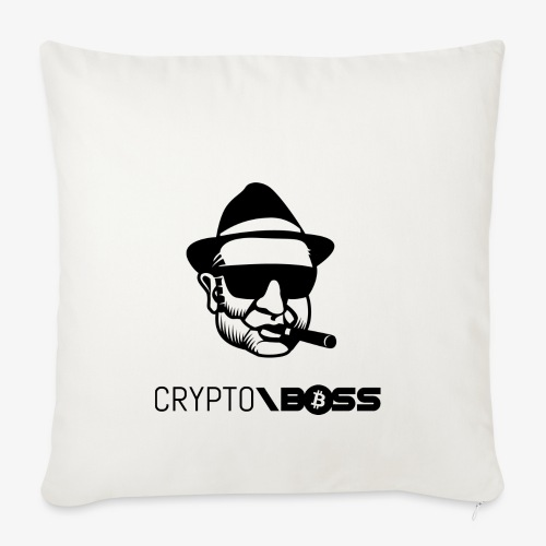 HODL cryptoboss-b - Sofa pillowcase 17,3'' x 17,3'' (45 x 45 cm)