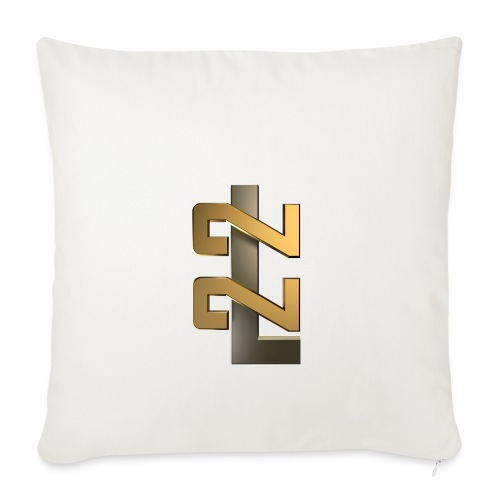 L22 Classic Logo - Soffkuddsöverdrag, 45 x 45 cm