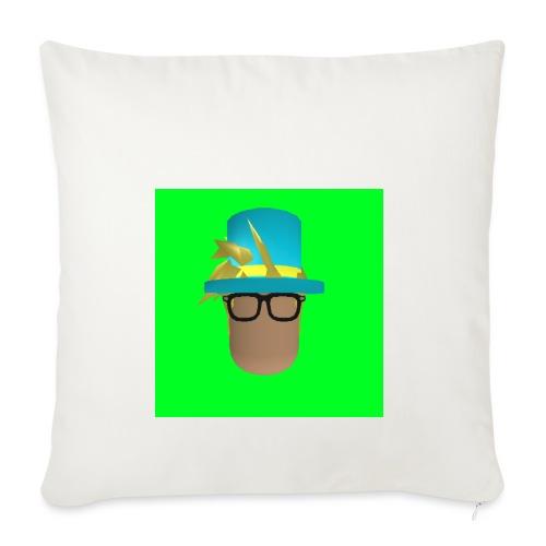 MrWhatWhat Logo Merch - Sofa pillowcase 17,3'' x 17,3'' (45 x 45 cm)