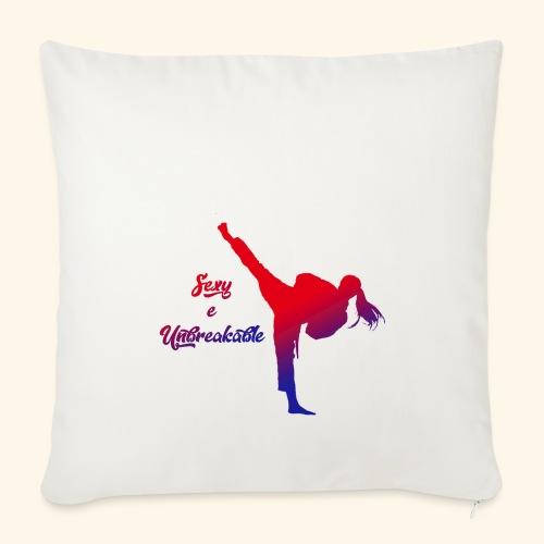 sexy e unbreakable - Copricuscino per divano, 45 x 45 cm