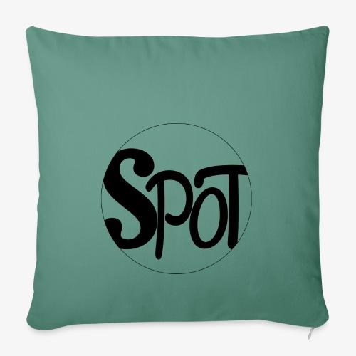 spotCircle Black White - Sofa pillowcase 17,3'' x 17,3'' (45 x 45 cm)