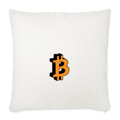 Bitcoin - Sofakissenbezug 44 x 44 cm