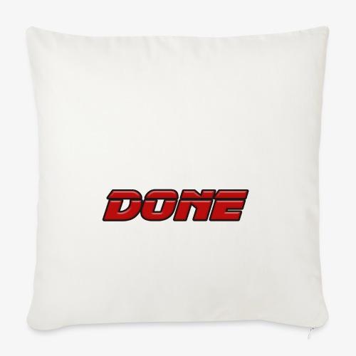 done - Sofa pillowcase 17,3'' x 17,3'' (45 x 45 cm)