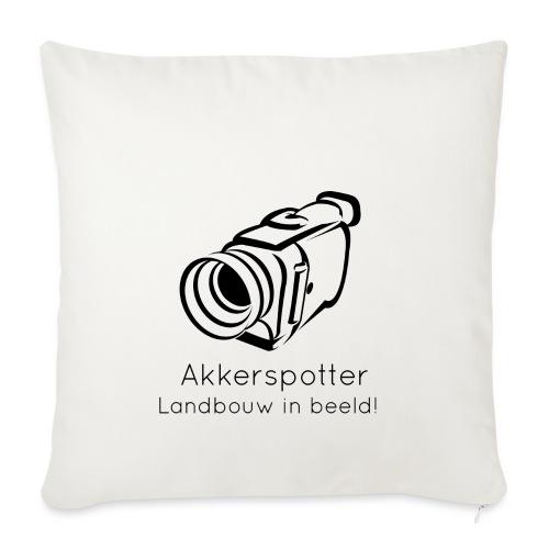 Logo akkerspotter - Sierkussenhoes, 45 x 45 cm
