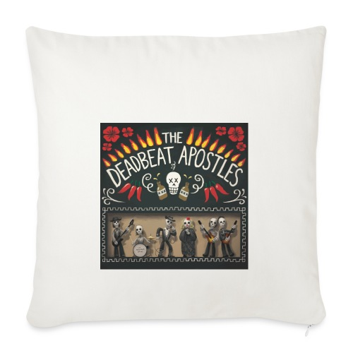 The Deadbeat Apostles - Sofa pillowcase 17,3'' x 17,3'' (45 x 45 cm)