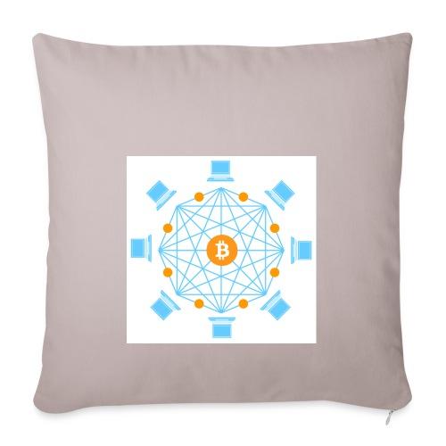 Blockchain - Sohvatyynyn päällinen 45 x 45 cm