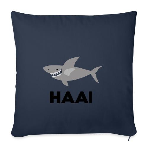 haai hallo hoi - Sierkussenhoes, 45 x 45 cm