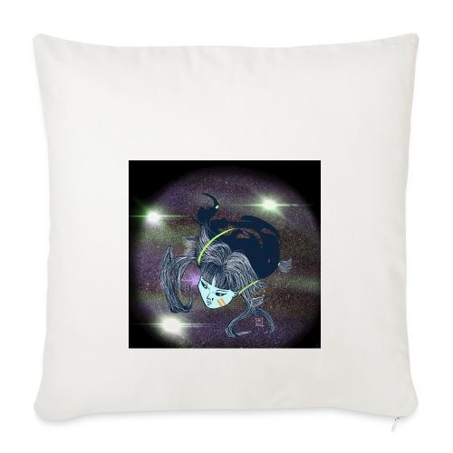 the Star Child - Sofa pillowcase 17,3'' x 17,3'' (45 x 45 cm)