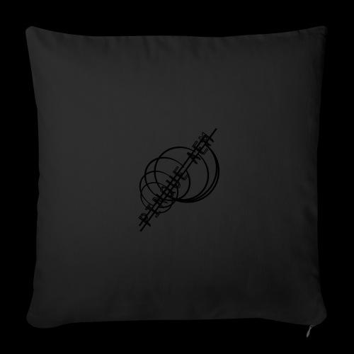 Pinque AEM NERO - Copricuscino per divano, 45 x 45 cm
