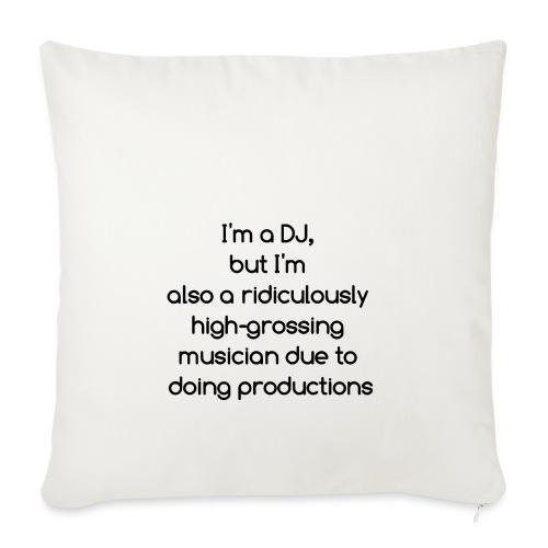 IM A DJ! - Sierkussenhoes, 45 x 45 cm