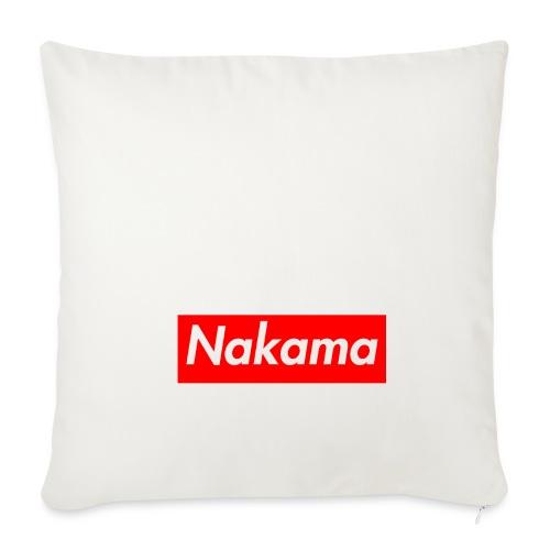 Nakama - Housse de coussin décorative 45x 45cm