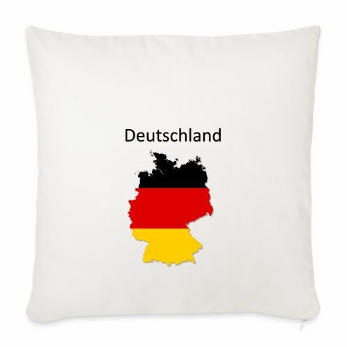 Deutschland Karte - Sofakissenbezug 44 x 44 cm