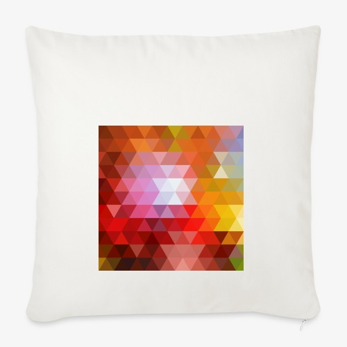 TRIFACE motif - Housse de coussin décorative 45x 45cm