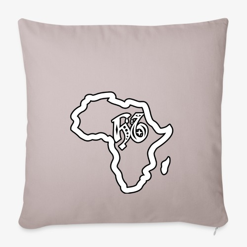 afrika pictogram - Sierkussenhoes, 45 x 45 cm