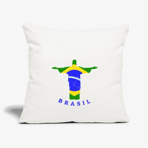 Brasil Flag Statue - Sofakissenbezug 44 x 44 cm