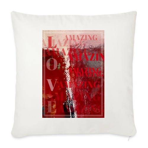 Love Amazing - Soffkuddsöverdrag, 45 x 45 cm