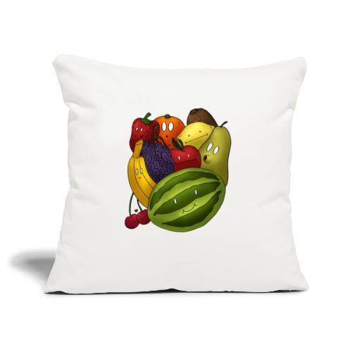 Happy Fruits - Sofakissenbezug 44 x 44 cm