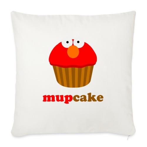 mupcake elmo - Sierkussenhoes, 45 x 45 cm