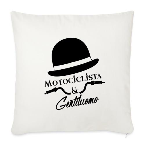 Motociclista & Gentiluomo - Copricuscino per divano, 45 x 45 cm