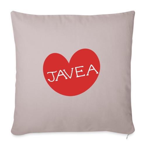 LOVE JAVEA - Funda de cojín, 45 x 45 cm