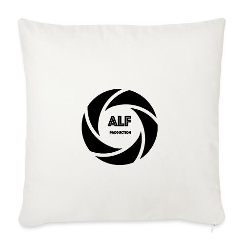 Logo Nero - Copricuscino per divano, 45 x 45 cm