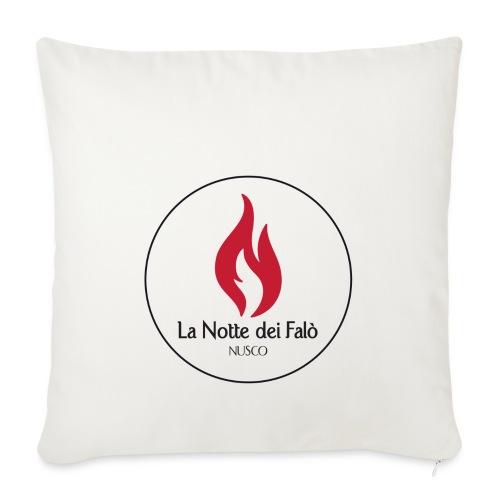 Logo Notte dei falo 2 - Copricuscino per divano, 45 x 45 cm