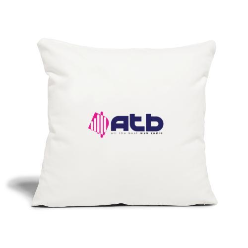 radio logo 2 - Sofa pillowcase 17,3'' x 17,3'' (45 x 45 cm)